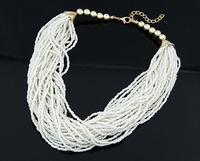 Min order 10USD(Mix order) SJB552 Western Style Fashion Flower Bohemian Gem Stone Necklaces & Pendants
