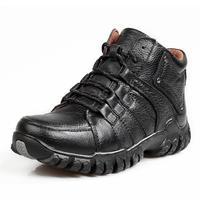 2014 winter men's casual sneakers plus velvet warm  Genuine leather size 39 ~ 47