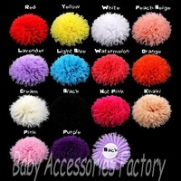 Trial Order 10pcs Soft Shabby Cloth Flower Artificial Fabric Flatback Chiffon Flower Hair Accessories Hair Flower For Headband