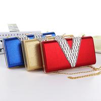 Wholesale manufacturers selling models Shoulder Messenger chain box dinner lady purse handbag Free shipping