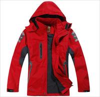 2014  Men Outdoor Sportswear Softshell Jacket Waterproof Windproof Coats Outdoor Jacket Zipper Hooded Outerwear Coat casual coat