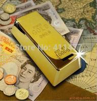Generic Novelty Gold Bar Shaped Money Box Coin Bank Saving Pot