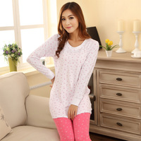 Spring Autumn Women's Pajamas Set Long Sleeve Sleepwear Nightwear Home Clothing Casual Pijama Women Pyjamas Tracksuit Pajama