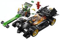 Bela Super heroes series Avengers Batman chariot chase Minifigures Building Blocks Sets Legoland Kids Toys Educational