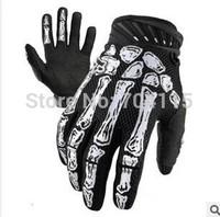 Skull Cycling Full Finger  Golove Three Size