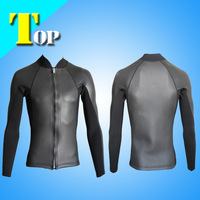 High quality of mens 2mm CR wetsuit jacket surfing suit top men  surf suit  free shipping