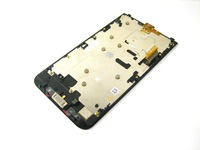 Replacement Full LCD Display + Touch Screen Digitizer + Front Frame for BlackBerry Z30 4G LTE Black