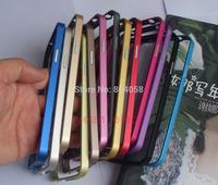 LOVE MEI Ultrathin Metal Bumper Frame Case Aluminum Skin For Samsung Galaxy S5 SV  i9600 free shipping!