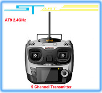 2015 New 2.4G 9ch system Radiolink AT9 rc radio Transmitter & Receiver Combo remtoe control TX + RX for Drone RC Helicopter