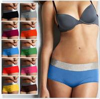 1 PC Sexy Women Panties Underwear  Brand Cotton Modal Boxer Intimates Women's Lingerie Calcinha Black XL 6688