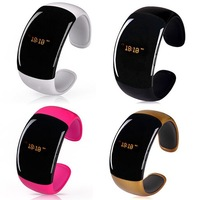 New Bluetooth Bracelet Watch caller ID display anti-lose answer hang up call music player For Smart Phone smartwatch B6 SV004302