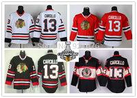 Chicago Blackhawks Jerseys Ice Hockey Jerseys #13 Daniel Carcillo Jersey white red black third 2013 Stanley Cup champion