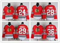 Chicago Blackhawks Ice Hockey Jerseys Chicago Blackhawks Jerseys #24 Havlat #28 Larmer #29 Bickell #36 Bolland red jersey