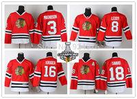 Chicago Blackhawks Ice Hockey Jerseys #3 Magnuson #8 Leddy #16 Kruger #18 Savard red jersey 2013 Stanley Cup champion