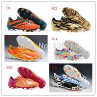 2014 Leo Messi F50 adiZero Soccer Shoes Men Outdoor Messi Football Shoes F50 Soccer Cleats adiZero Football Boots Trainers 39-45