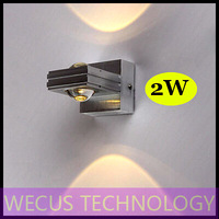(WECUS) free shipping, creative bedside lamps, European style garden, LED wall lamp, 2W, XJ-BD-1216