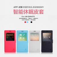 NILLKIN Fresh Series Leather Case For xiaomi hongmi/redrice/redmi note+free shipping