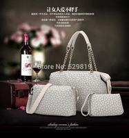 2014 new counters authentic handbags fashion wild printing three-piece three shipping buy Gains
