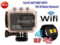 2014 New S20 WiFi Full HD 1920x1080P Camera Bike Motorcycle Waterproof Action Sports Helmet Camera Free Shipping