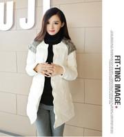 Hong Kong IT purchasing European winter new Slim Down padded cotton jacket women fur coat NDZ188 Y9W