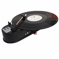 New Portable Turntable Vinyl Record Player Converts Vinyl Turntable LP audio to MP3 Saving into USB Flash, plug and play,R/L Out