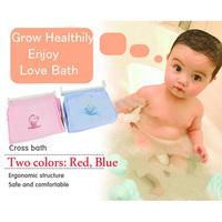 Baby Kids Bathing Adjustable Bathtub Newborn Safety Security Baby Bath Tub Shower Seat Support Net Cradle Bed