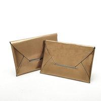 2014 New Style Fashion Envelope Bags Women's Clutch Purse Gold Color Designer Women Handbags Party Evening Bag WJ1053