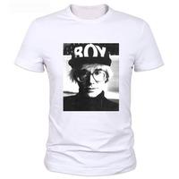 2014 Britain famous brand Men t shirt fashion design  print short-sleeve casual  cotton tops tee for men