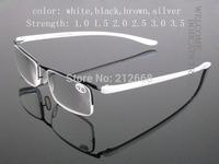 NEW Men Women Luxury TR90 Reading Glasses Reader 4 color +1 +1.5 +2 +2.5 +3 +3.5