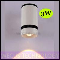 (WECUS) free shipping, American / European fashion LED wall lamp, bedroom bedside wall lamp, 1 heads 3W, XJ-BD-1219