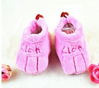 Free shipping 2014 Newborn princess toddler shoes bling comfortable soft girls baby shoes m A09