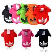 Factory price Fashion Pet Cloth Dog Sweater Puppy Hoodie Sweaters Big mouth Monkey Pattern S M L XL XXL [YW]