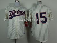 stitched  Minnesota Twins Jerseys 15# Glen Perkins men's  baseball Jersey/Anthony Rendon  baseball shirt