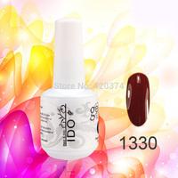 12PCS/lot IDO gel nail polish color UV gel  nail art (10colors +1top+1base) soak off  177 colors Optional