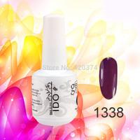 24PCS/lot IDO color UV gel soak off  The best nail polish nail tools (22colors +1top+1base)177 colors
