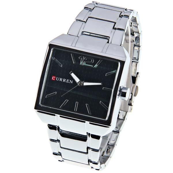 Hot Fashion New Arrival Quartz Brand Man Watch Timer Curren Clock Men's Wrist Watch Analog Water Resistant Free Shipping(China (Mainland))