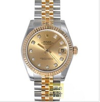 Woman watches  gold / 26 mm / EMS Free Shipping 2014