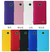 10 colors Polished Plastic Rubber Smooth Mate Plastic Hard Case Cover Shell for Nokia X X+ Normandy A110