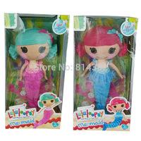 2pcs/lot Free Shipping 2014 New Top Quality MGA Lalaloopsy Dolls Toys Mermaid Lalaloopsy Dolls Girl Toys Classic In Stock