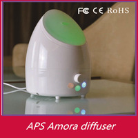 Top rated 48pcs/lot 300ml capacity scent aroma diffuser air freshener natural aroma flower diffuser with LED OEM