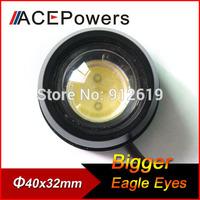 Aluminum Alloy Bigger Eagle Eye Light Eyeball Lamp Brake Reverse Bulb Turn Signal Daytime Running Strobe Light High Power Chip
