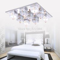 Modern Crystal Ceiling Lamp Abajur Ceiling Lights Lustres De Sala Modern Led Ceiling Lights For Living Room Luminaria Teto Lamps