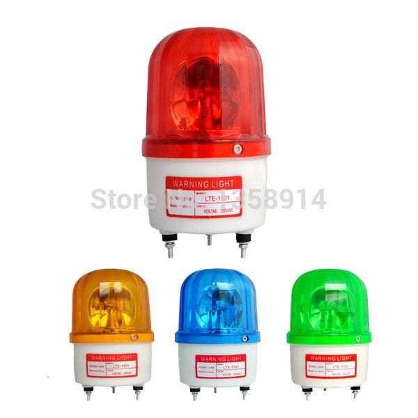 4 colors12V/24V/36V Mini Led Lightbar Rotating Beacon Industrial Warning Lights Parking Led Warning Light(China (Mainland))