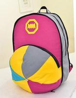 2014 New Candy Nylon Backpack Hat Design Popular Sport School Bag XBG060