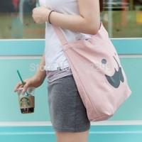 Big beard shopping bag leisure college wind handbag shoulder diagonal bag