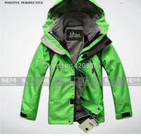 Children 2piece outdoor fishing jackets winter warm children suits outfit hoodies trench coat children's winter ski suit parka