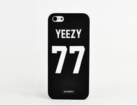 New Arrival Fashion Style Yeezy No.77 Cellphone Case Cover For iPhone 5 5S with Retail box,Free Shipping