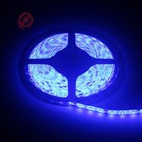 Free Shipping Led Strip 5m/roll Cool White 300leds 3528 RGB LED Strip light DC 12V waterproof IP65