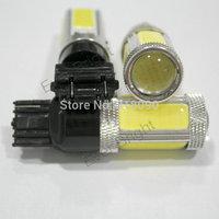 NEW!! 4Pieces/lot T25 3156 3157 COB 5 SMD Car Led Turn Parking Backup Light White Car Light Sourse Reversing Lamp Car Lights