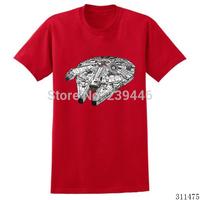 Free Shipping Kids' Star Wars T-shirts Boys Girls T Shirts Short Sleeve O-Neck Tshirts Cute Funny Print Top Tees Children